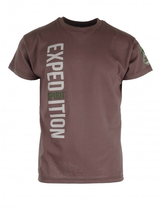 Grey T-shirt Expedition Spirit