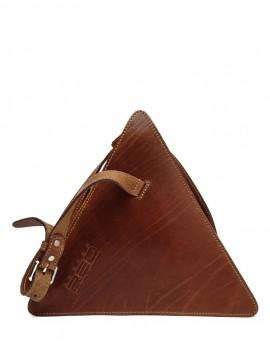 Leather over the shoulder bag