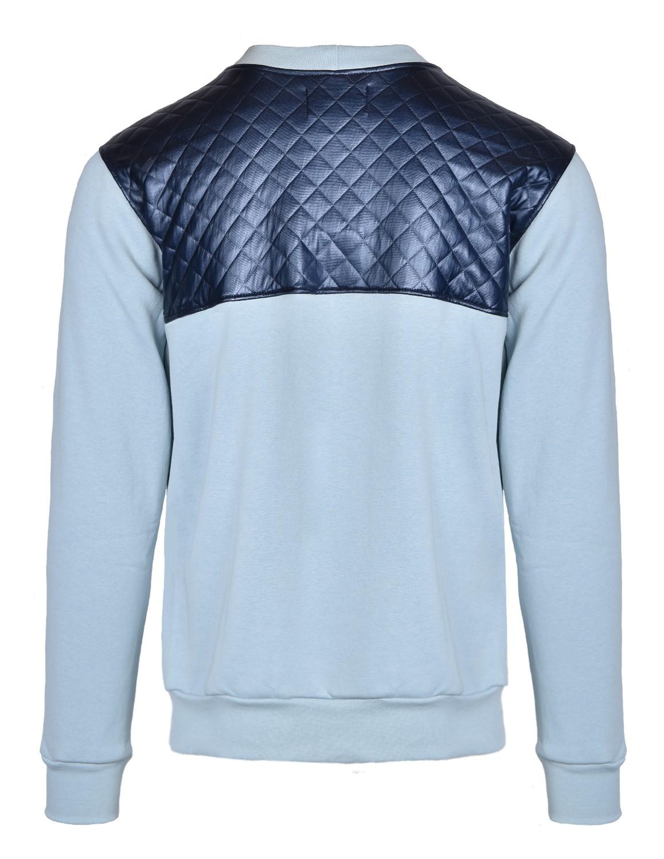 SELEPCENY Cotton Sweatshirt Blue