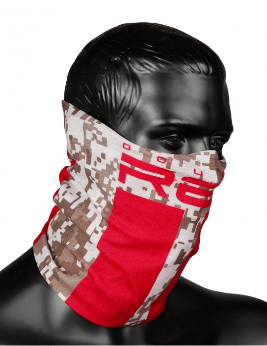 RED SQUAD Snood Digital Camo
