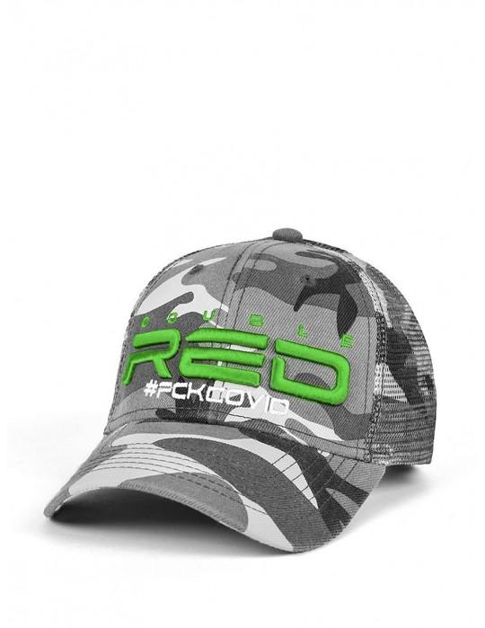 FCK COVID B&W Green