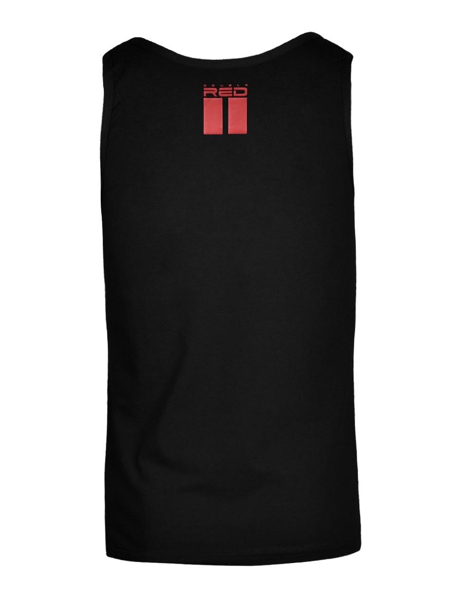 FCK Covid RED TEAM Tank Top Black