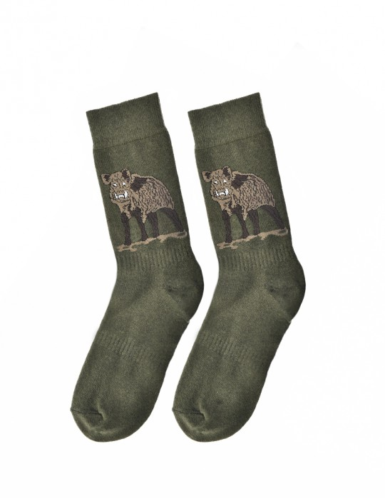 Men's FUN Socks Wild Boar
