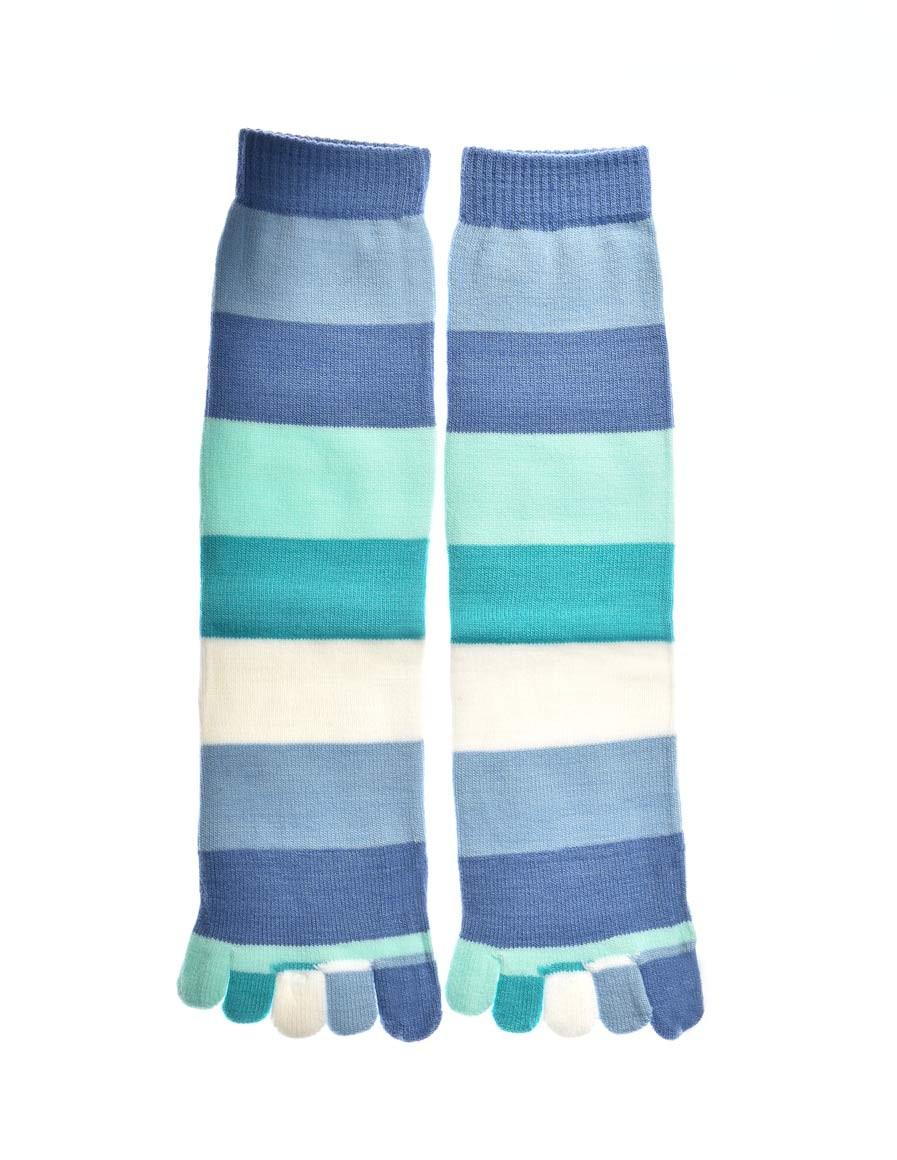 DOUBLE FUN Toe Socks Ocean