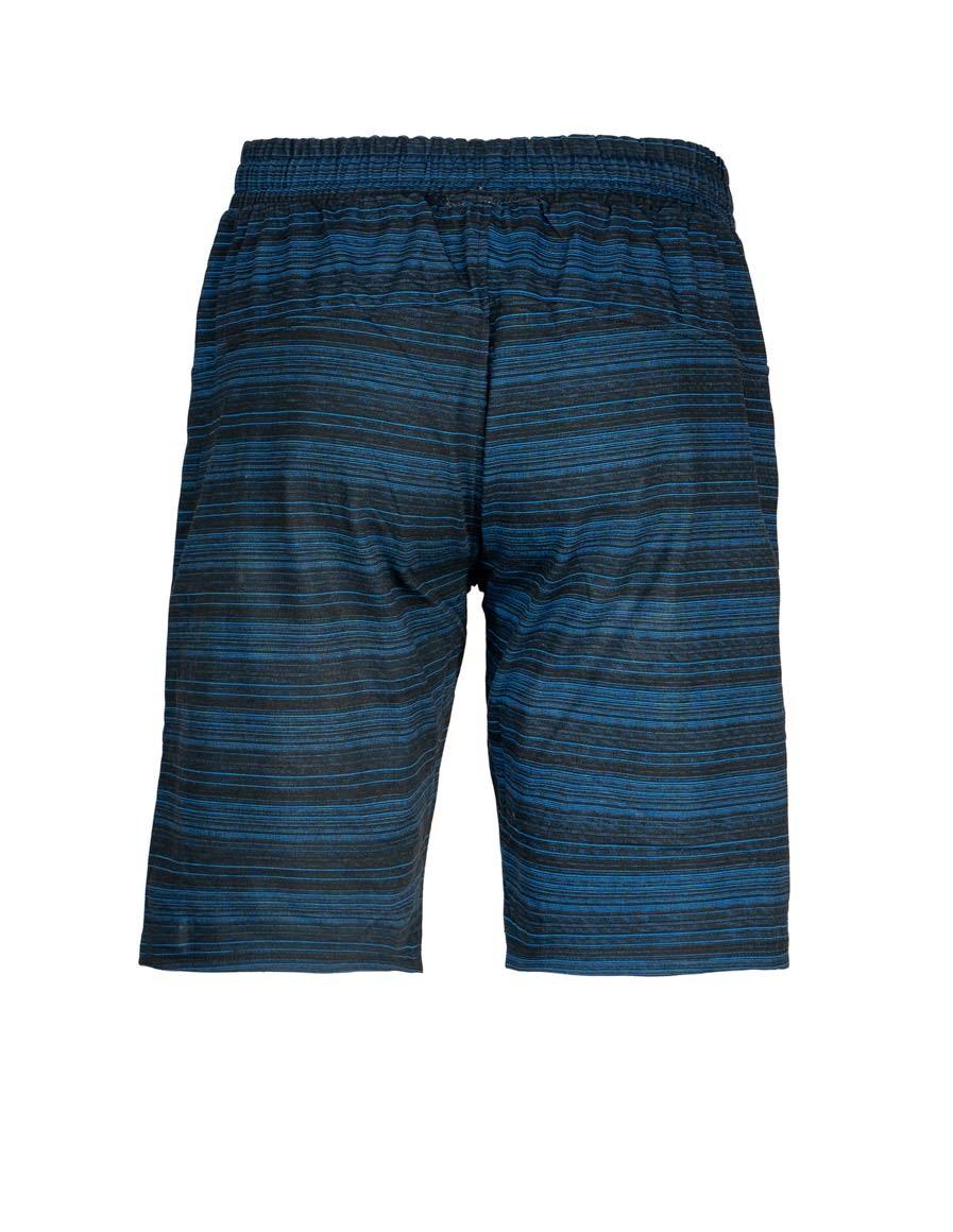 Shorts Kung-Fu Master Stripes Blue