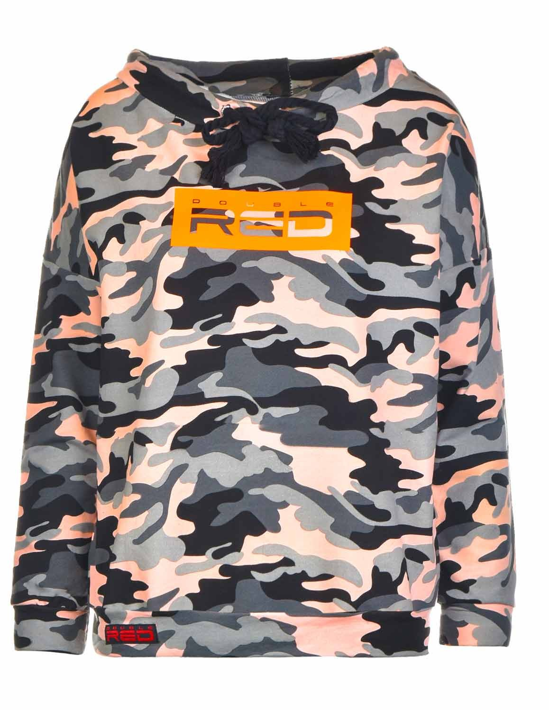 Sweatshirt  Neon Collection Orange Camo