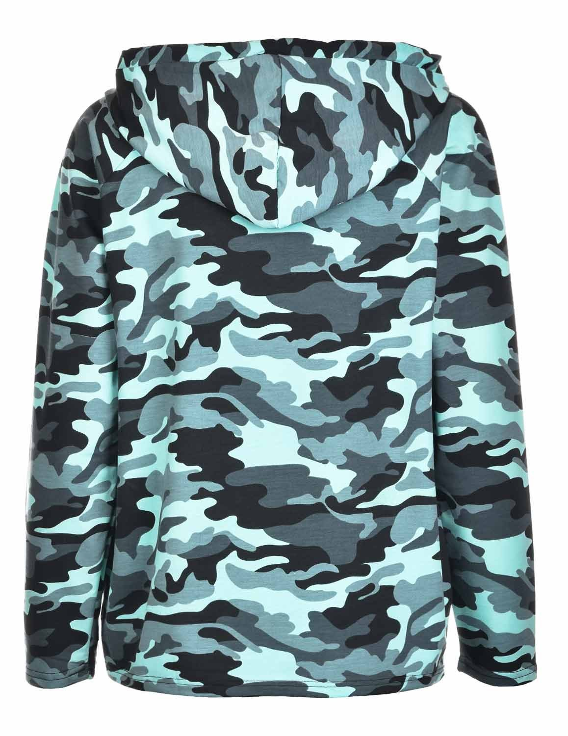 Hoodie Neon Collection Pink Camo