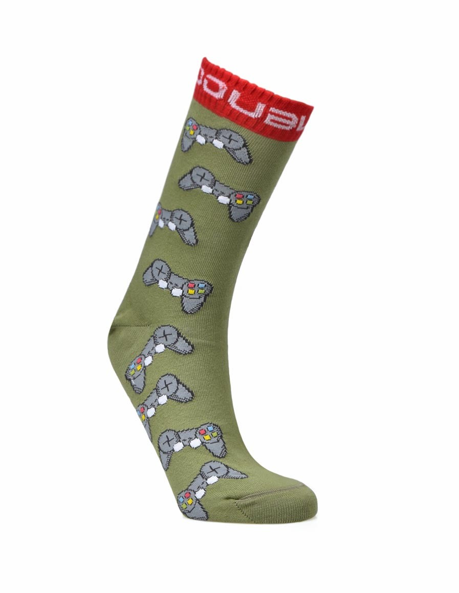 DOUBLE FUN SOCKS IM NOT GAMER