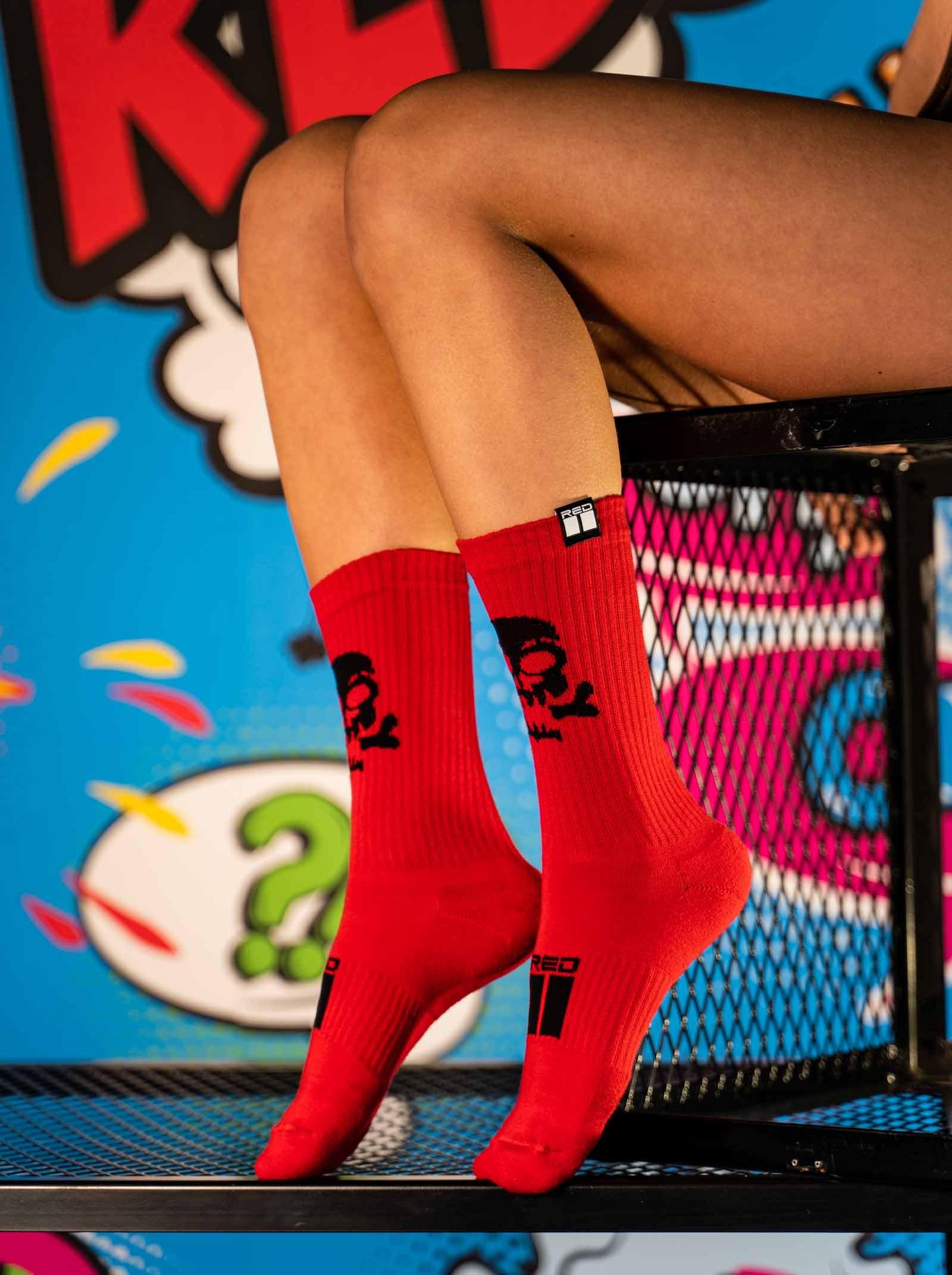 PIRAT Socks EDITION Red