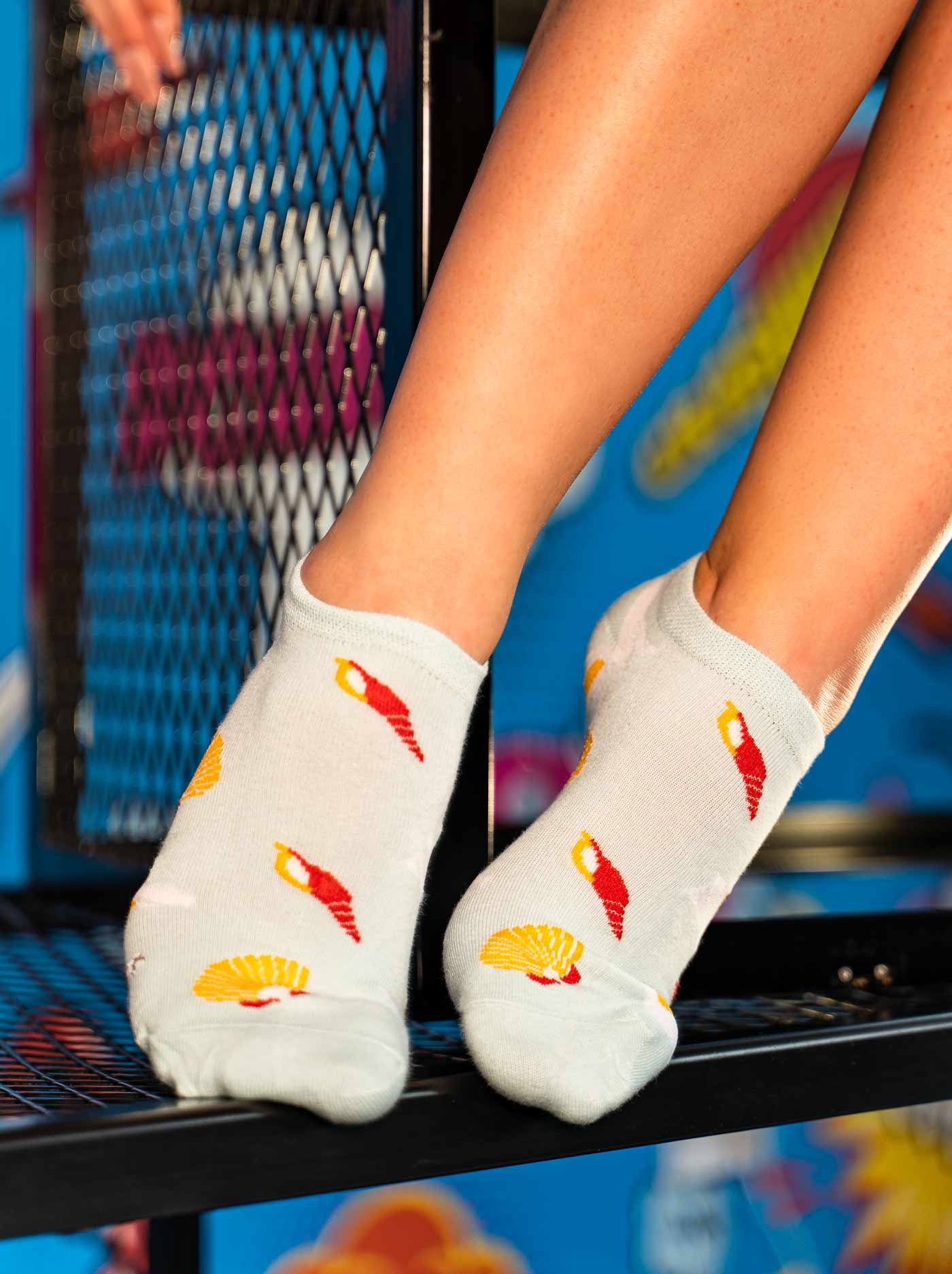 Women's Low Cut FUN Socks Shells