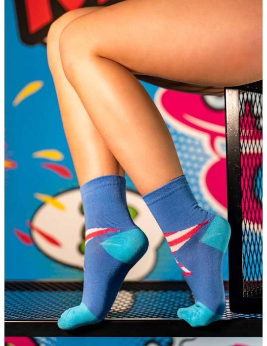 Women's FUN Socks Flamingo