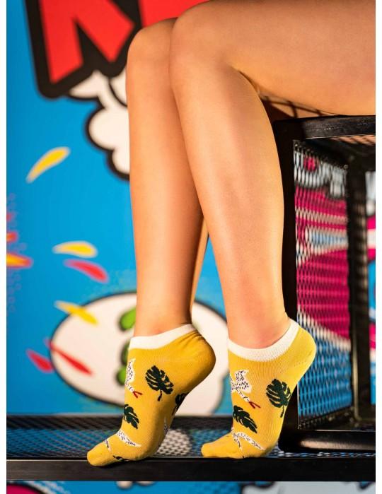 Women's FUN Low Cut Socks Freedom